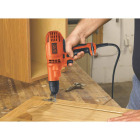 Black & Decker 3/8 In. 5.2-Amp Keyless Electric Drill/Driver Image 3