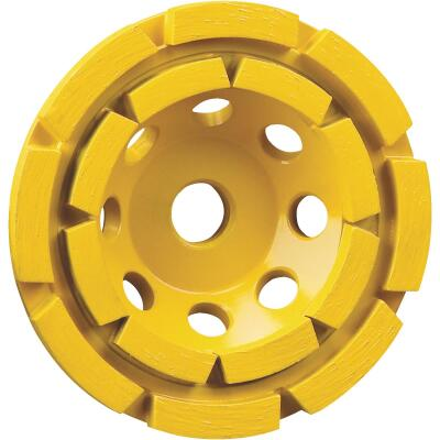 DeWalt 4-1/2 In. Segmented Double Row Masonry Cup Wheel