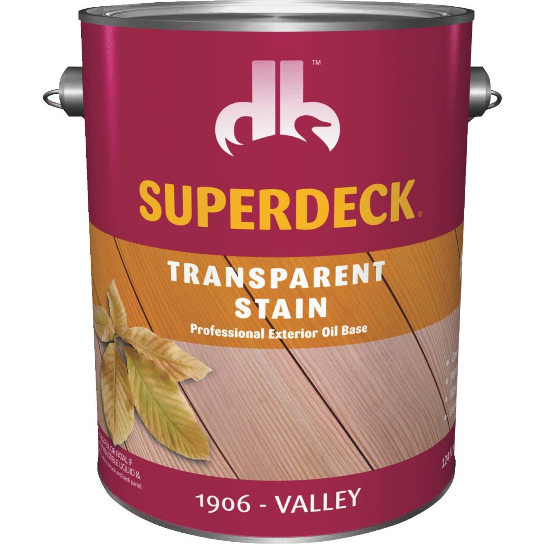 Duckback SUPERDECK VOC Transparent Exterior Stain, Valley, 1 Gal. Image 1